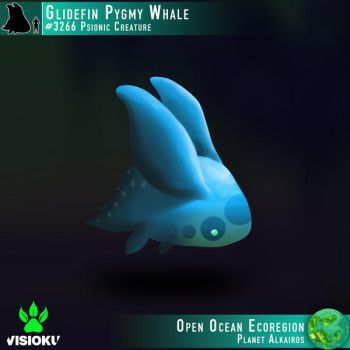 Glidefin Pygmy Whale #3266 by Visioku