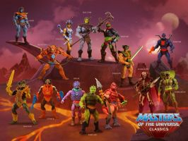 Masters of the Universe Poster 4 by lemomekeke