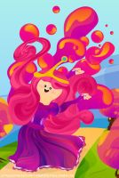 Princess Bubblegum Pop by jcroxas