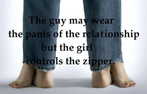 the guy may wear the pants... by agirlnamedshemus