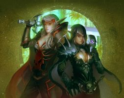 comm: Noraea and Mysterica by unrealsmoker