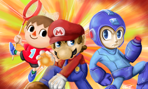Colors 3D - Smash Bros by Gkenzo