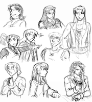 Practice Sketches of Stuff by funakounasoul