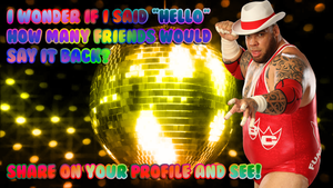 Brodus Clay: How Many Friends Would Say Hello? by MrAngryDog