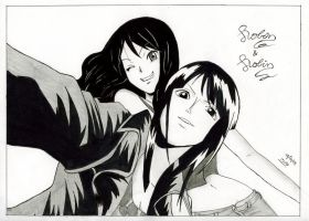 Nico Robin and Me by LadyGrell93