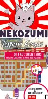 JAPAN EXPO 14 - NEKOZUMI booth map by Nekozumi