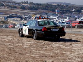 CHiPs Crown Vic CA Hwy Patrol by Partywave