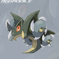 048 Aggrodile by SteveO126