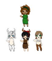 Pixel Faun Adopts -Closed- by Miss-Adoptables