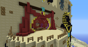 Minecraf:  Fesh'knet palace hookah room closeup by Sherio88