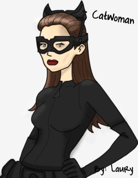 +Catwoman DIBUJO by 4EverSmileEditions