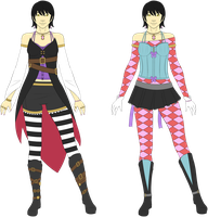 Sayoko - Outfit Concept Art by Tagrberry
