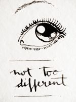 not too different by request-art