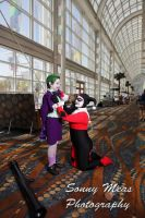 Joker Jr. and Harley Quinn 2 by Lady-Ha-ha