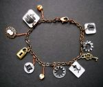 Steampunk Charm Bracelet 8 by KatarinaNavane