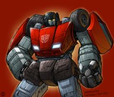 Comixink's Sideswipe colored by REX-203
