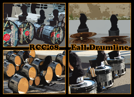 RCC'08 Fall Drumline by sevnated
