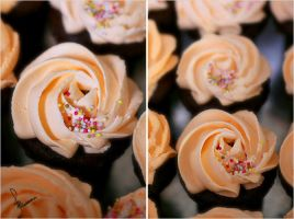 Apricot cupcakes . . . by Sha59-Ananii