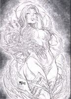 WitchBlade by Fredbenes