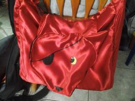 FNAF Foxy Messenger Bag by fangs211