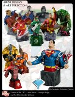 Heroes of the DCU jam page by BLACKPLAGUE1348