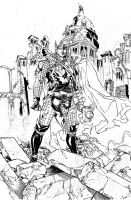 THOR by Spiderguile - inks by JeffGraham-Art
