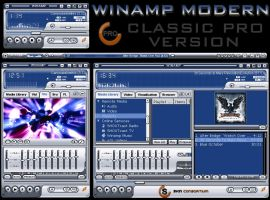 CPRO WINAMP MODERN by Skin-Consortium