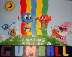 The Amazing World of Gumball by KuddlyFatality