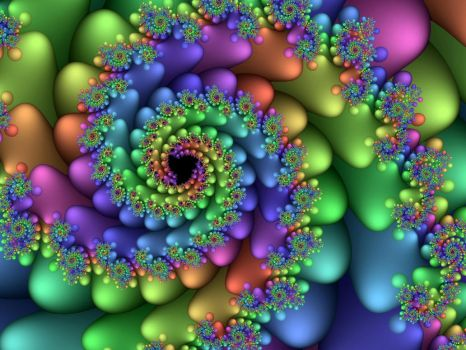 Sweet Candy Spiral by Thelma1
