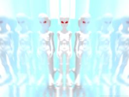 The annoying albino aliens cloning process by doobdoobom