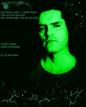 In memory of Peter Steele by EmmiP