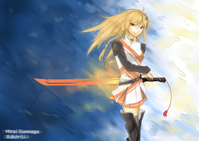 Mirai Suenaga Submission for contest by XiaFei
