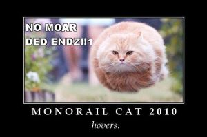 Monorail Cat 2010 by dorieke