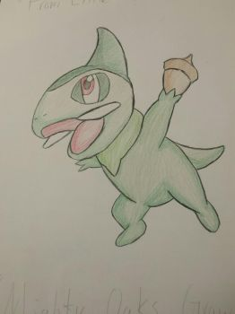 Axew Doodle by UnstoppableGamer