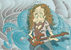 Guthrie Govan Waves by Cosmic-Onion-Ring