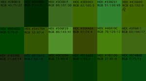 Olive Pallete 1 by NocturnalPacifist