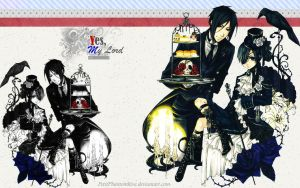Yes, My Lord - Black Butler by PetitPhantomhive