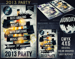 2013 flyer party by ultimateboss