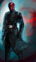 Red Skull by Haining-art