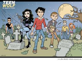 Teen Wolf by BillWalko
