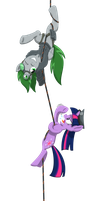 Everypony On Rappel! by South-Fur