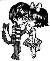 Colorless Love by CUTE-ChibiMONSTERZ
