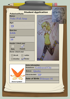 PokeInstitute App: Val by Angel-of-the-Lore
