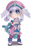 Xenoblade Melia Commission by ChaoticBlossoms