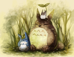 Totoro by CuteSkitty