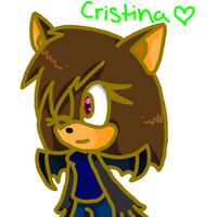 An old character named Cristina c: by ChickenNuggetGalaxy