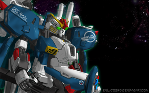 Ex-S Gundam Wallpaper by Evil-Cozmo