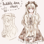 bubble tea by Aokiki