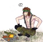 Picnic with Big Boss by niziolek