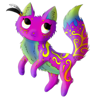 The cat of pure art by Meloetta-Melodies